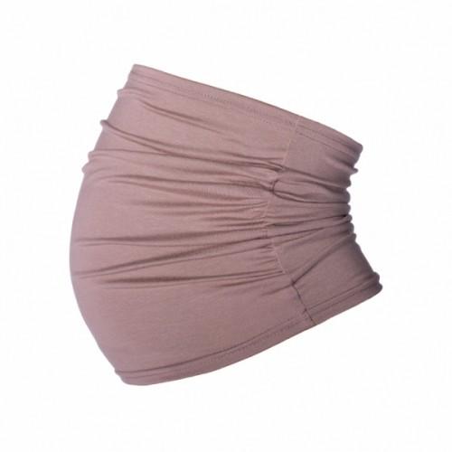 Be MaaMaa Těhotenský pás - béžový, vel´. L/XL - L/XL