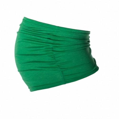 Be MaaMaa Těhotenský pás - zelený - S/M