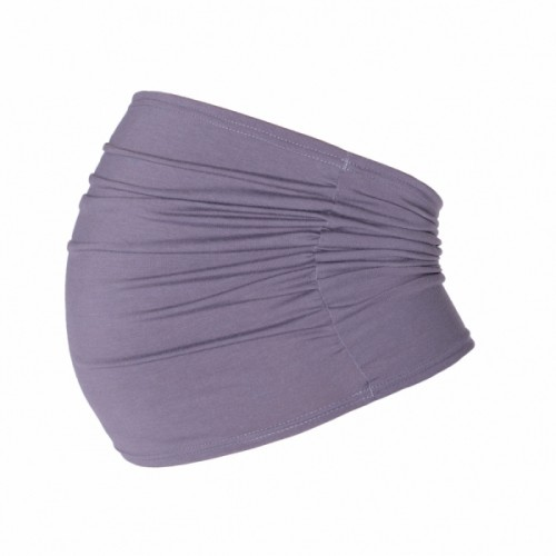 Be MaaMaa Těhotenský pás - šedý, vel´. L/XL - L/XL