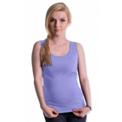 Be MaaMaa Tehotenské, dojčiace tielko s odnímateľnými ramienkami - sv. modré, vel´. L/XL - L/XL