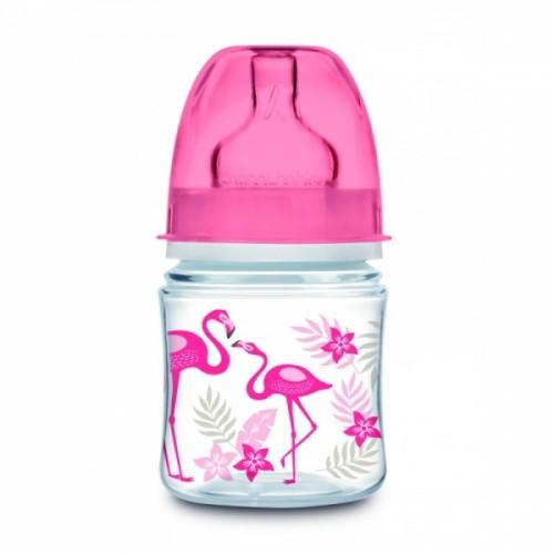 Canpol babies Antikoliková fľaštička120 ml Jungle - Plameniaky, 1 ks