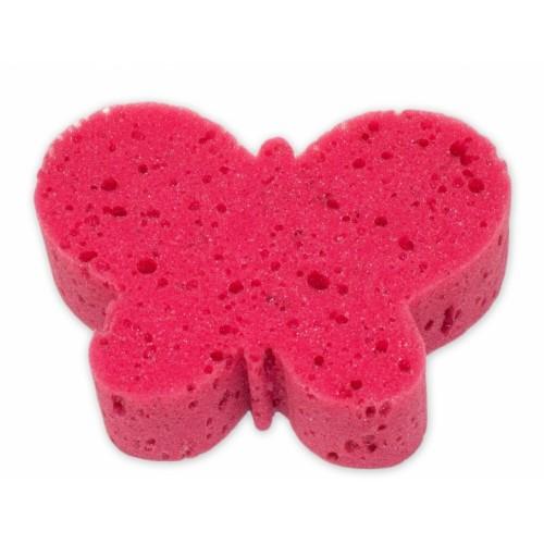 Cleanex Detská kúpeľová huba - zvieratko, červená
